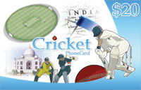 Cricket Phone Card $20